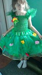 костюм весны на девочьку