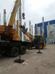 Демонтаж промышленных зданий и сооружений, земляные работы.Строительств